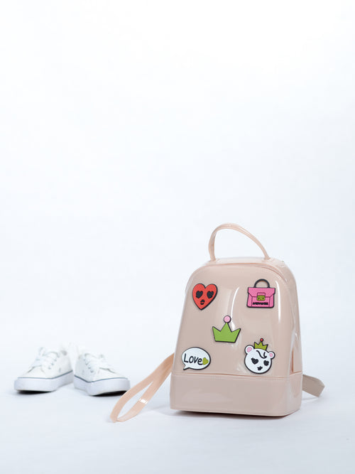 Jelly Cream Bag w. Patch Logos