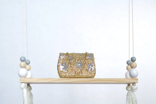 Oh Sequin Starry Handbag