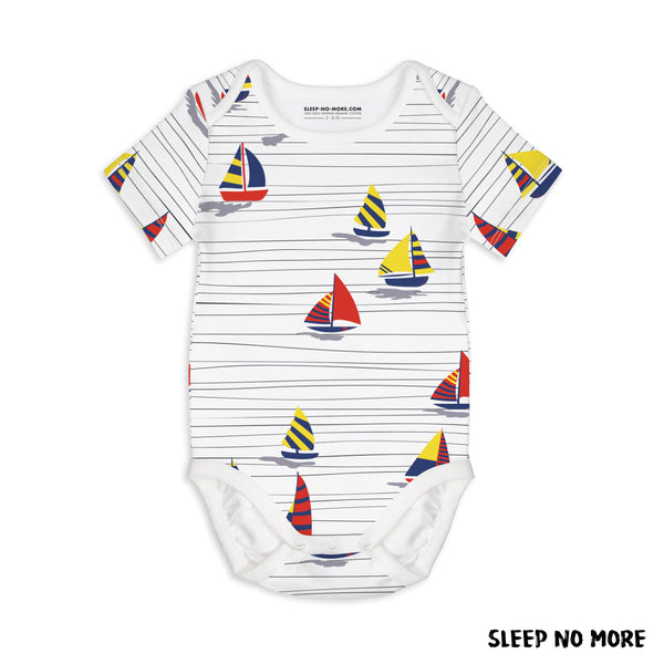 SNM Boats Onesie