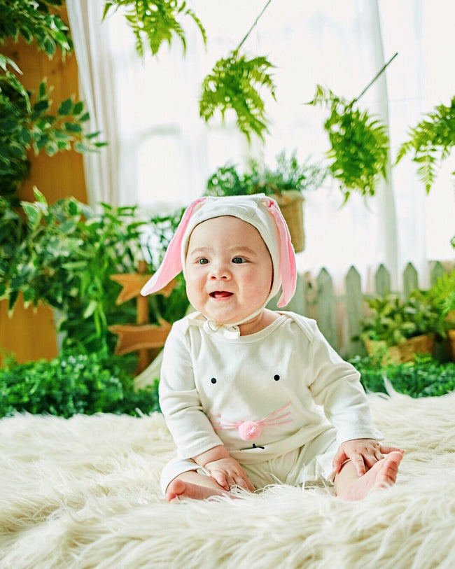 Emma Romper With Bunny Ears Hat