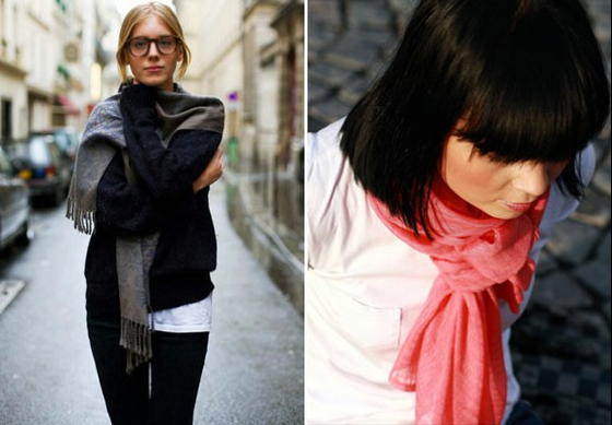 How to Wear a Scarf Like a French Woman