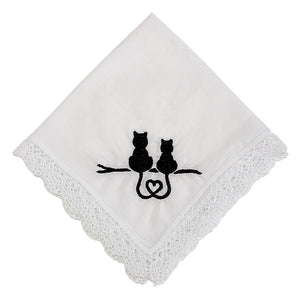 Kitty Love Handkerchief for Ladies