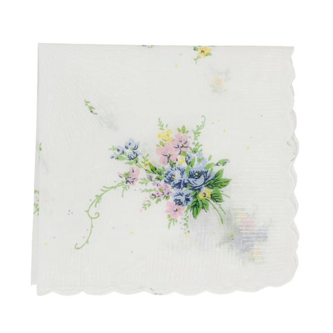 Fondest Memories Flower Handkerchief