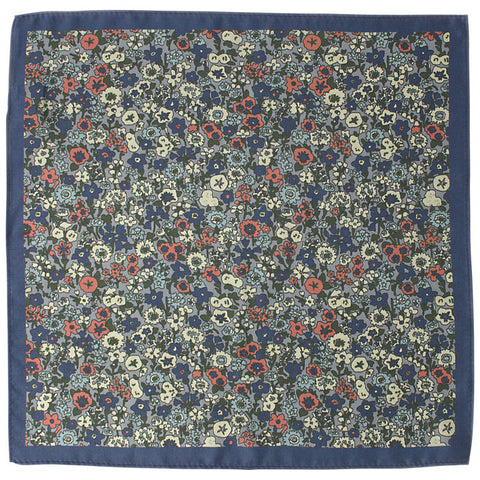 John Lewis Cotton Ditsy Floral Pocket Square
