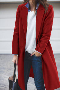 Fashion Casual Woolen Coat