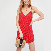 Sexy Elegant Sleeveless Pure Color Mini Dress