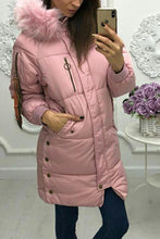 Fashion Plain Long-Sleeve Outerwear
