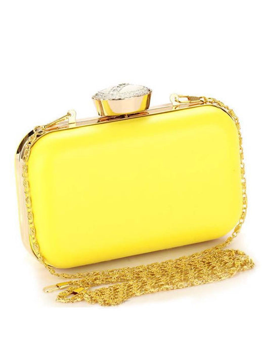 Chic Fluorescence Color Clutch Bag