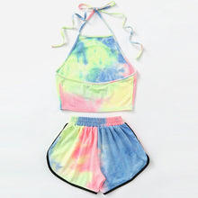 Casual Sexy Printed Two-Piece Shorts Swimsuit