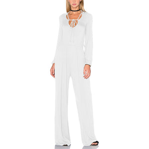 Bundled Wind Fashion Casual Jumpsuit
