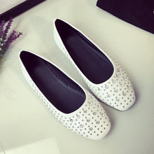 Plain  Flat  Round Toe  Date Flat & Loafers