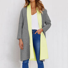 Long Sleeve Thick Long Section Tops Coat