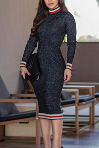 Autumn Slim Sexy Bodycon Dress