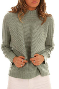Fashion Knitted Bottoming Sweater
