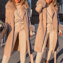Fashion Solid Color Long Sleeve Overcoat
