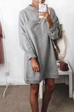 Fashion Long Sleeved Casual Dress