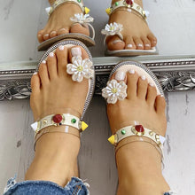 Summer Casual Toe Flat-Bottomed Beach Shoes