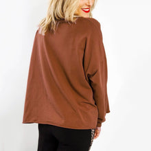Fashion Solid Color Casual Letter Pullover T-Shirt