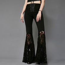 Openwork Embroidered Casual Pants