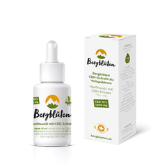 Natural 10% - Full-Spectrum CBD Oil-CBD Oil-Bergblüten-Swiss CBD Shop-uWeed