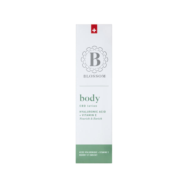 BODY - CBD Lotion with Hyaluronic Acid & Vitamin E