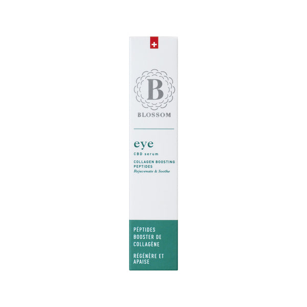EYE - CBD Serum with Collagen Boosting Peptides-CBD Cosmetics-Blossom-Swiss CBD Shop-uWeed
