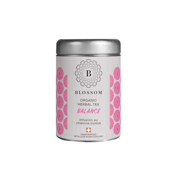 Organic Herbal Tea with Swiss Hemp - Balance | Blossom | CBD Tea | uWeed | Swiss CBD Shop