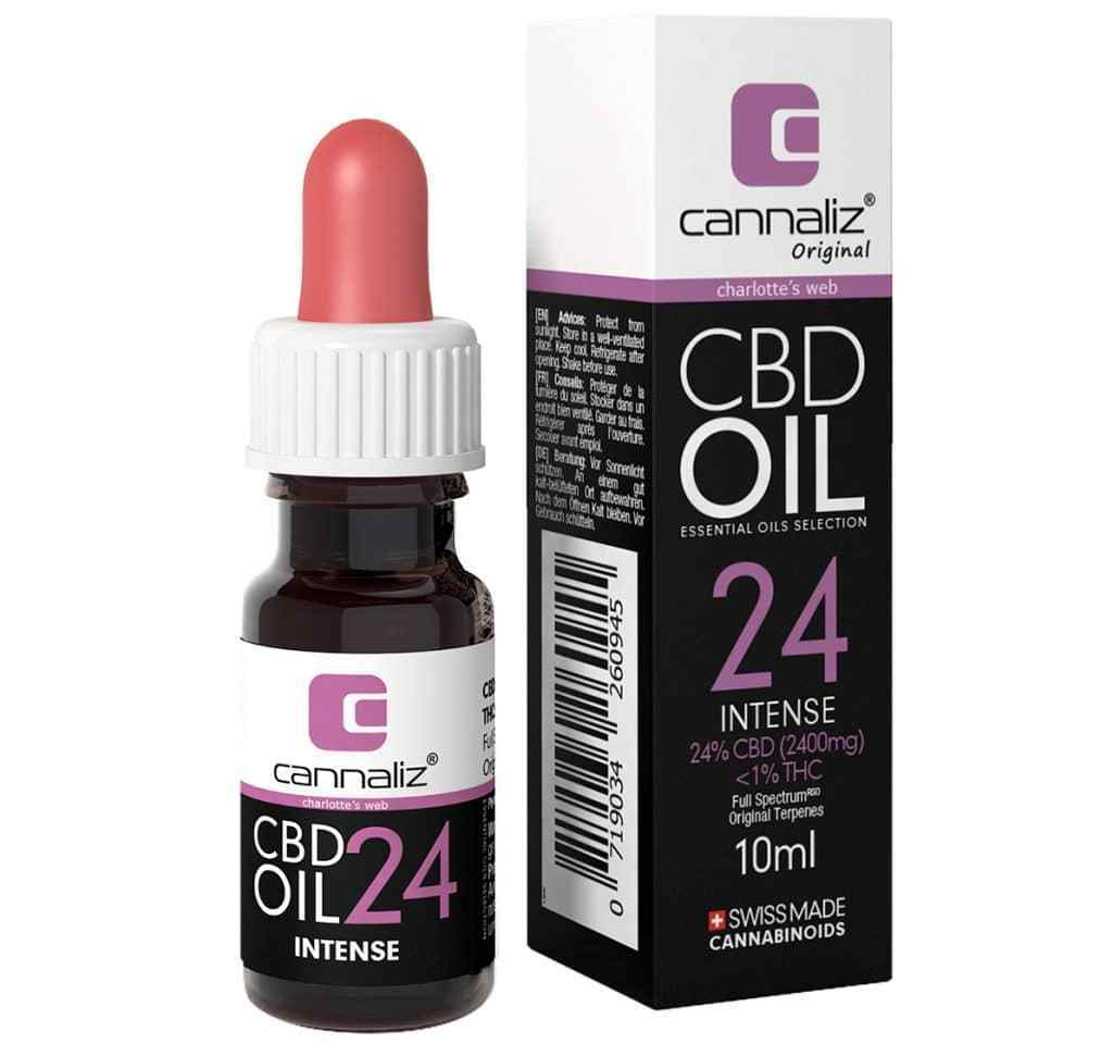 Selection CBD Oil 24% - Charlotte's Web (2400mg)-CBD Oil-Cannaliz-Swiss CBD Shop-uWeed