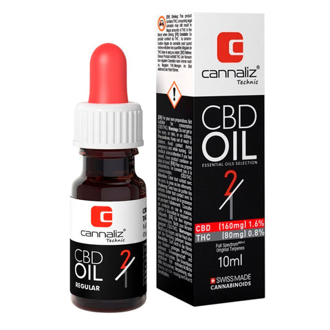 Cannaliz CBD Oil : 2/1 CBD/THC Ratio | Cannaliz | CBD oil | uWeed | Swiss CBD Shop | Buy Online Shop CBD Switzerland