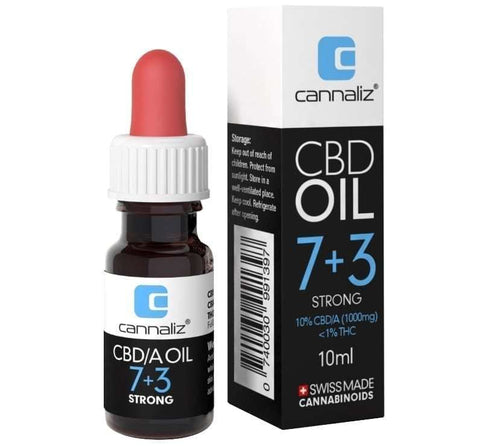 Cannaliz CBD Oil : ´7+3´ 10% CBD/A | Cannaliz | CBD oil | uWeed | Swiss CBD Shop | Buy Online Shop CBD Switzerland
