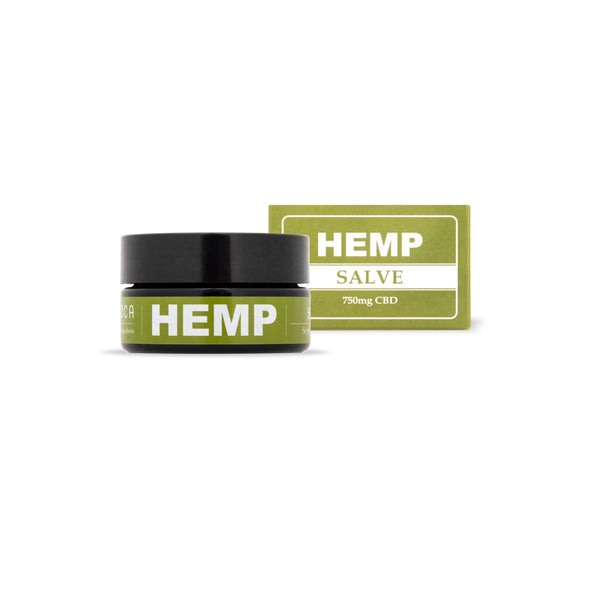 CBD Hemp Salve Body and Face Care with 750mg CBD-CBD Cosmetics-Endoca-Swiss CBD Shop-uWeed