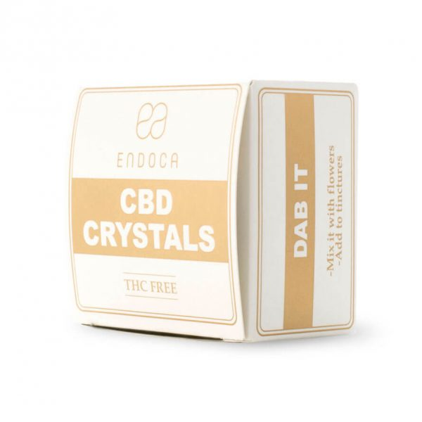 Pure Cannabis Crystals 99% - 500mg CBD-CBD Crystals-Endoca-Swiss CBD Shop-uWeed