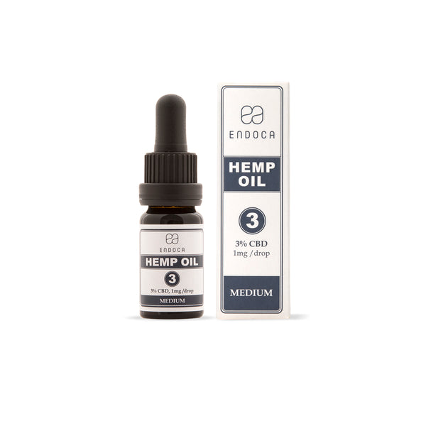 Hemp Oil Drops - 300mg CBD (3%) | Endoca | CBD oil | uWeed | Swiss CBD Shop
