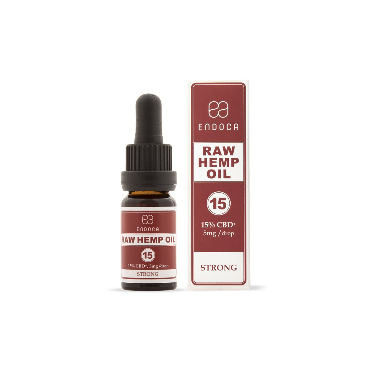Raw Hemp Oil Drops - 1500mg CBDa + CBD (15%)-CBD Oil-Endoca-Swiss CBD Shop-uWeed