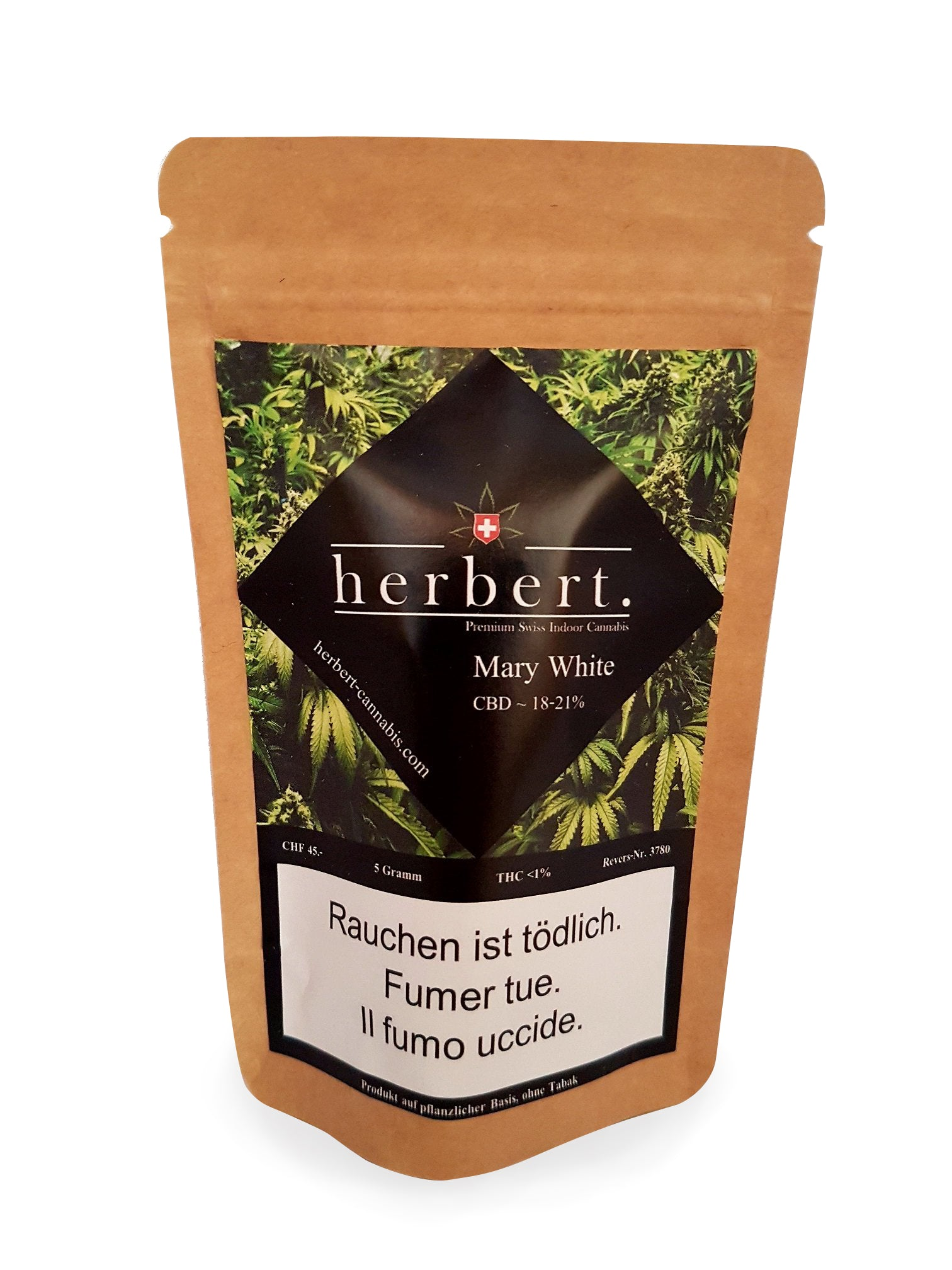 Herbert - Mary White - CBD Cannabis | Herbert | CBD Cannabis | uWeed | Swiss CBD Shop | Buy Online Shop CBD Switzerland
