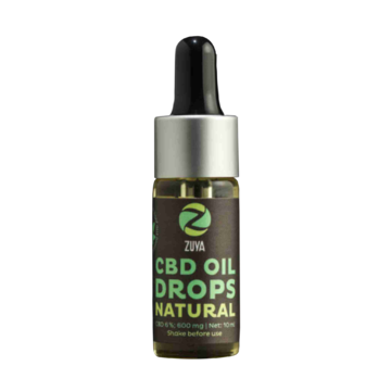 Natural 18% - Full-spectrum CBD Oil (1800mg)-CBD Oil-Zuya-Swiss CBD Shop-uWeed