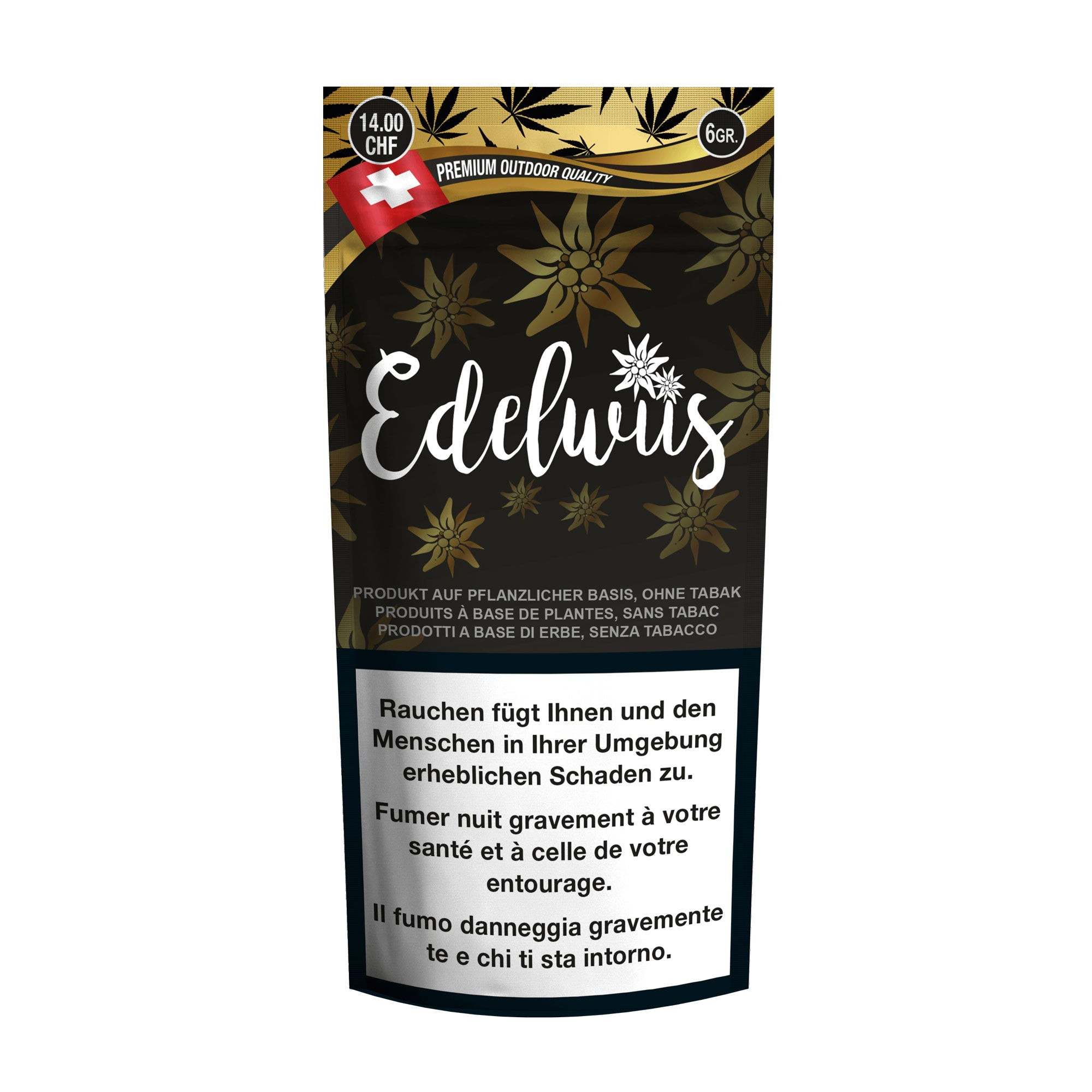 Edelwiis-CBD Cannabis-Pure Production-Swiss CBD Shop-uWeed