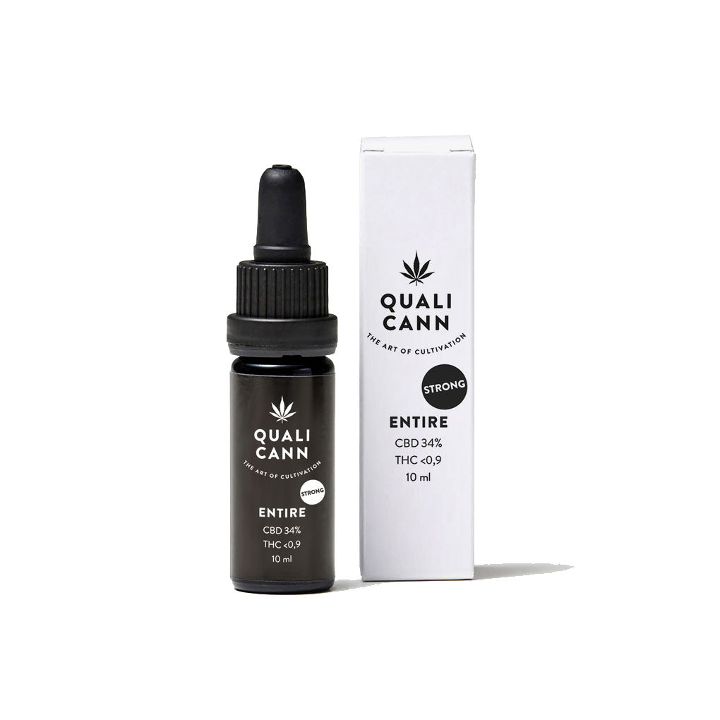 Entire 34% - Full Spectrum CBD Oil-CBD Oil-Qualicann-Swiss CBD Shop-uWeed