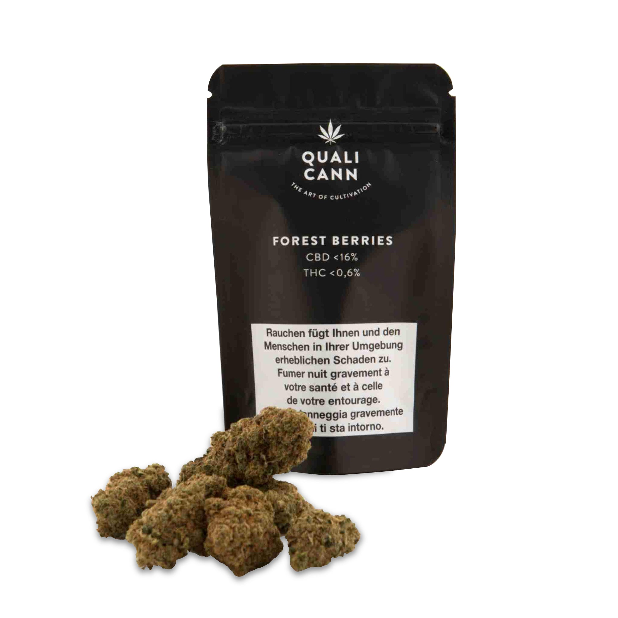 Forest Berries | Qualicann | CBD Cannabis | uWeed | Swiss CBD Shop | Buy Online Shop CBD Switzerland