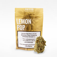 Lemon Pop-CBD Cannabis-Swiss Hempcare-Swiss CBD Shop-uWeed