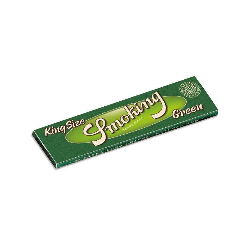 Green - King Size | Smoking | Smoking Accessories | uWeed | Swiss CBD Shop