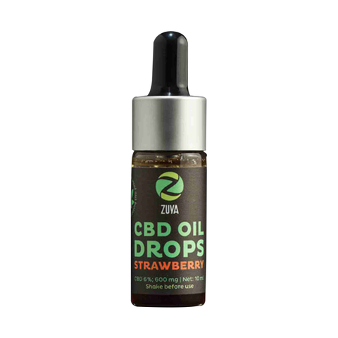 Strawberry - CBD Oil 12% | Zuya | CBD oil | uWeed | Swiss CBD Shop | Buy Online Shop CBD Switzerland