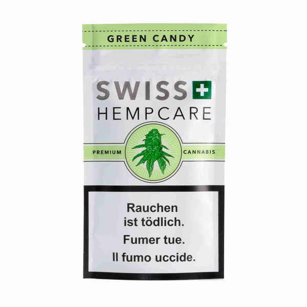 Green Candy-CBD Cannabis-Swiss Hempcare-Swiss CBD Shop-uWeed