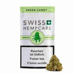 Swiss Hempcare - Green Candy - CBD Cannabis - Buy online in uWeed shop - Switzerland