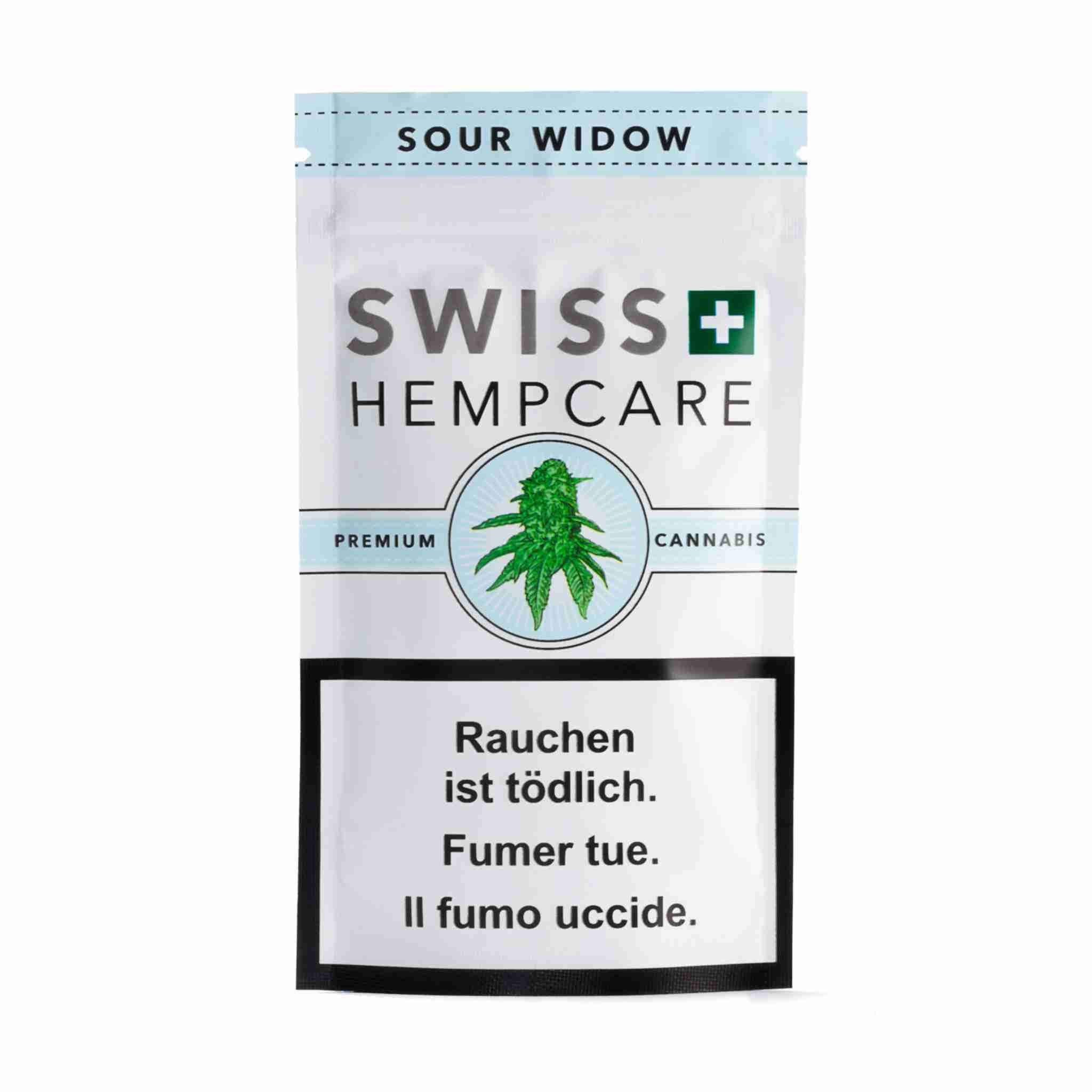 Swiss Hempcare - Sour Widow - CBD Cannabis - Buy online in uWeed shop - Switzerland