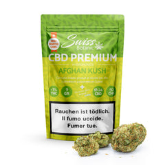 Swiss Botanic - Afghan Kush - CBD Hemp - Buy cannabis online in CBD shop - uWeed Switzerland