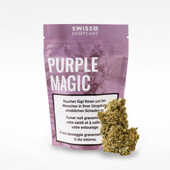 Purple Magic-CBD Cannabis-Swiss Hempcare-Swiss CBD Shop-uWeed