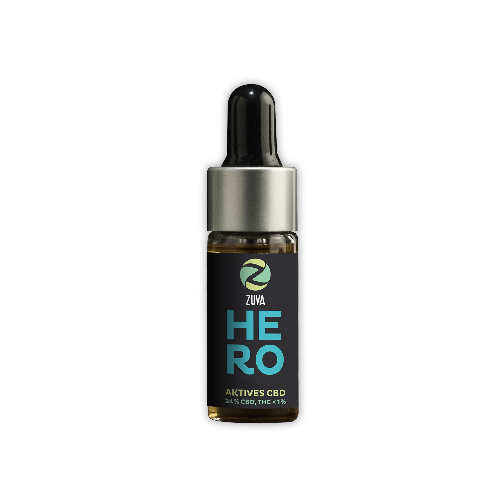HERO - 24% Active CBD Oil (2400mg)-CBD Oil-Zuya-Swiss CBD Shop-uWeed