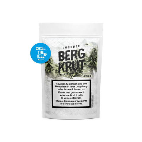 Chill the Hill 2 - CBD Cannabis | Bergkrut | CBD Cannabis | uWeed | Swiss CBD Shop | Buy Online Shop CBD Switzerland