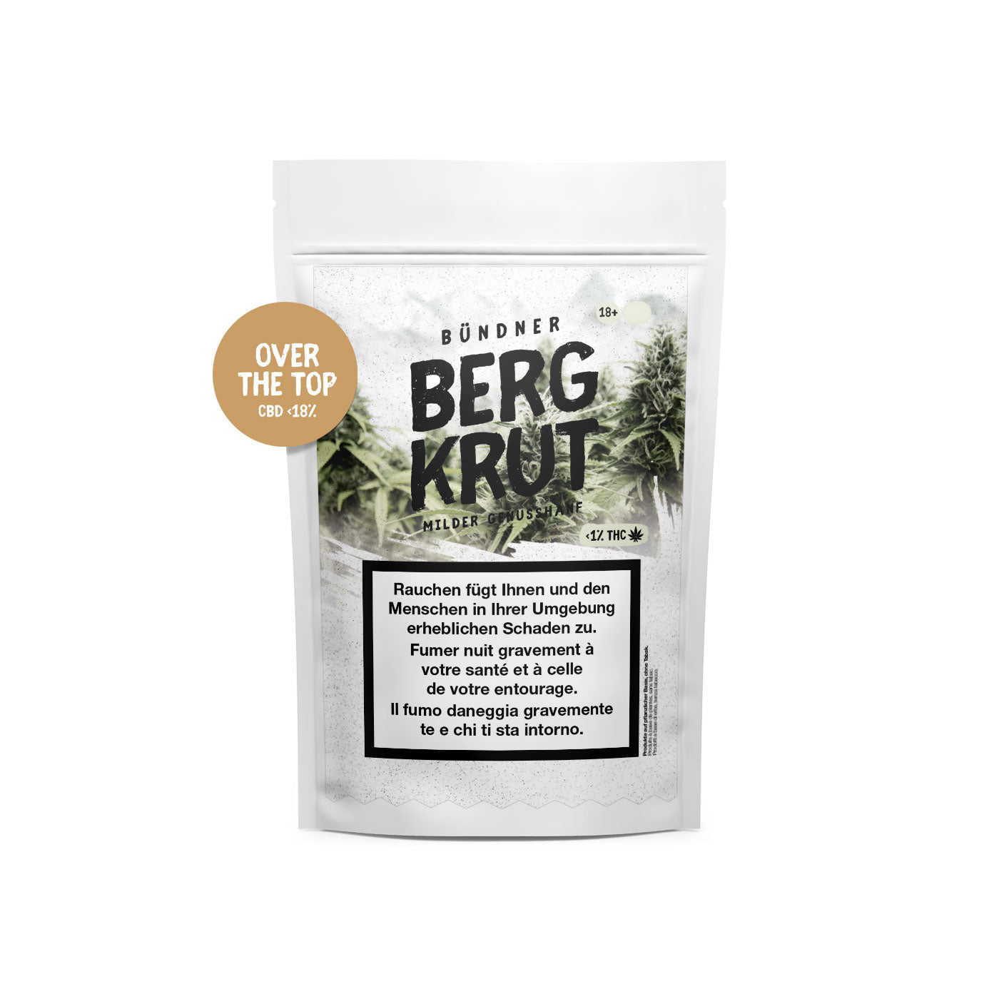 Over the Top | Bergkrut | CBD Cannabis | uWeed | Swiss CBD Shop